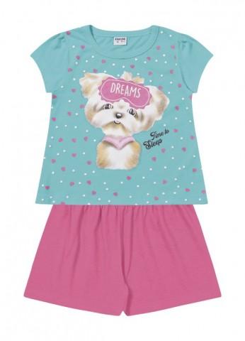 Pijama Infanil Verão Dreams, 2 peças - Fakini
