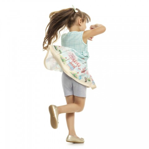 Shorts Infantil, Uso com Saia e Vestido  - Kaiani