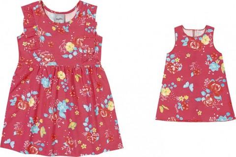 Vestido Infantil Verão Floral, 4 a 8 Anos - Kely & Kety