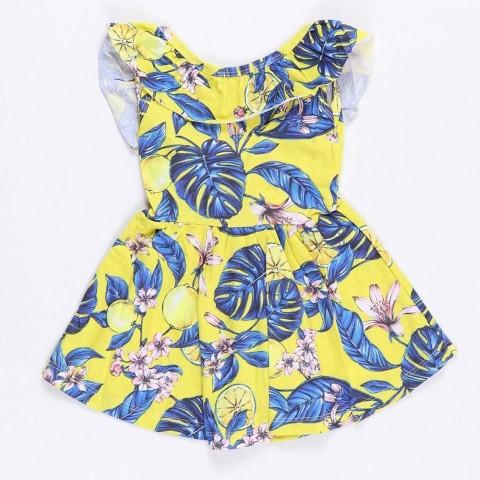 Vestido Infantil Verão Limões - Costão Mini