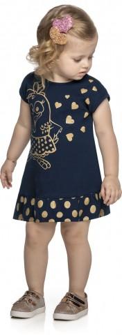 Vestido Infantil Verão Galinha Pintadinha - Romitex