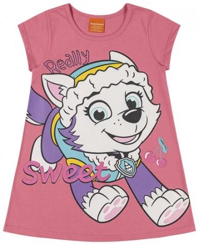Vestido Loungewear Infantil Verão Everest, Patrulha Canina - Romitex