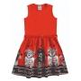 Vestido Infantil Inverno Com Bolero, Ursos, 3 peças - Angerô