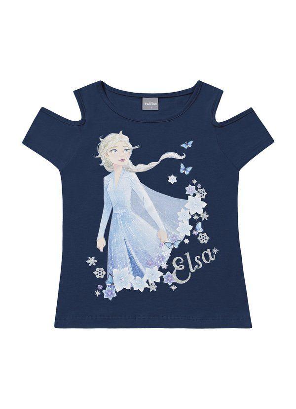 Blusa Infantil Verão Frozen - Fakini