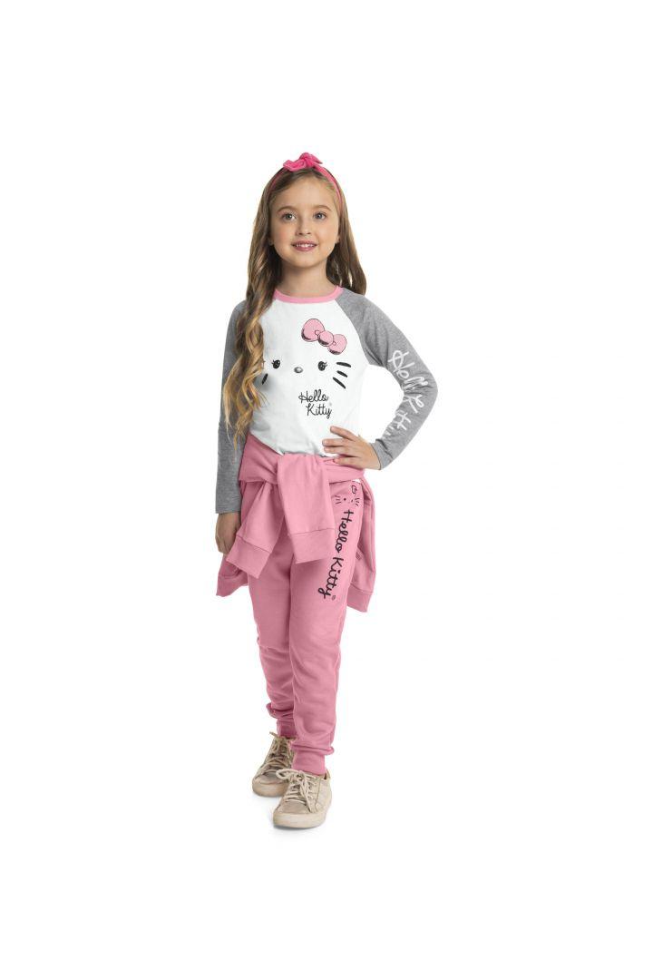 Blusa Infantil Inverno Gatinha - Hello Kitty