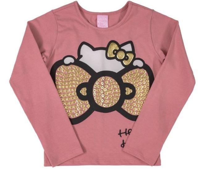 Blusa Infantil Inverno Laço - Hello Kitty