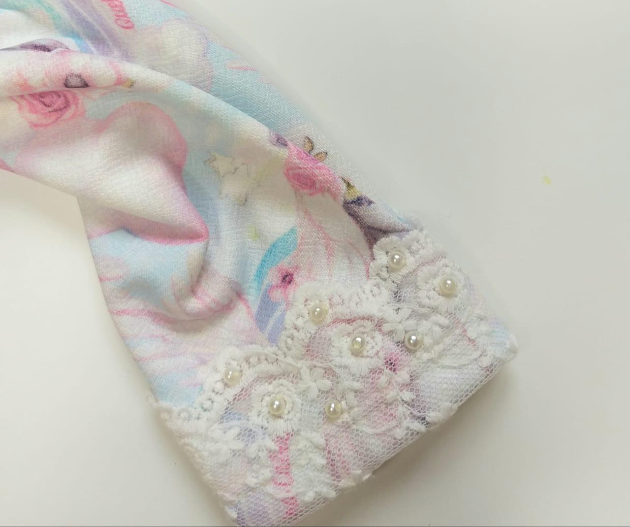 Blusa Infantil Inverno Unicórnio - Quebra Cabeça