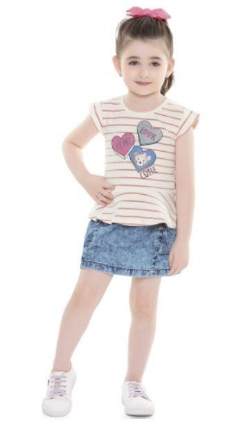 Blusa Infantil Verão Cutie - Fakini