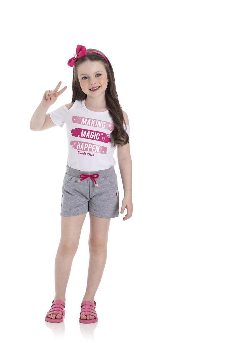 Blusa Infantil Verão Magic - Gueda
