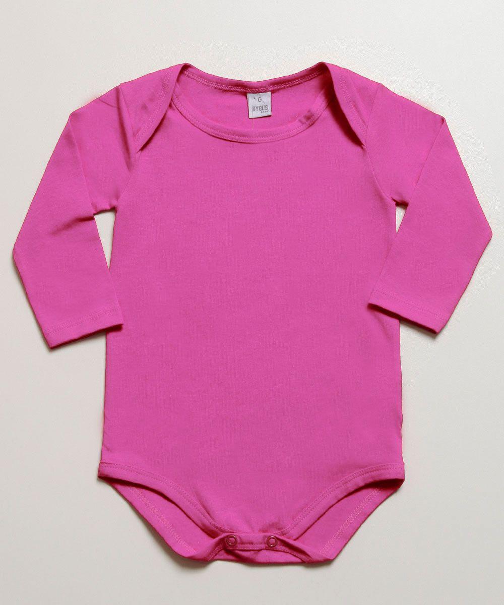 Body Básico Bebê Menina Inverno - Gueda