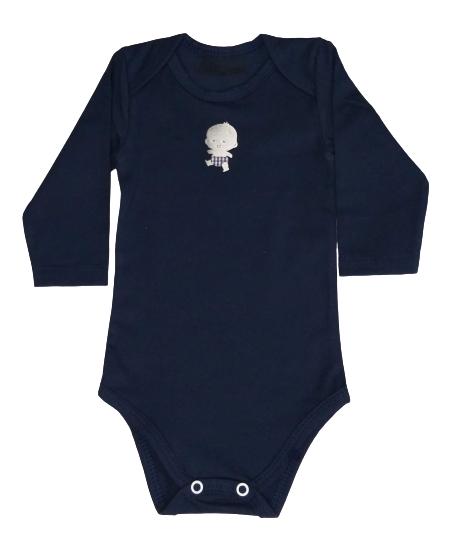 Body Bebê Inverno Menino - Bate Palminha