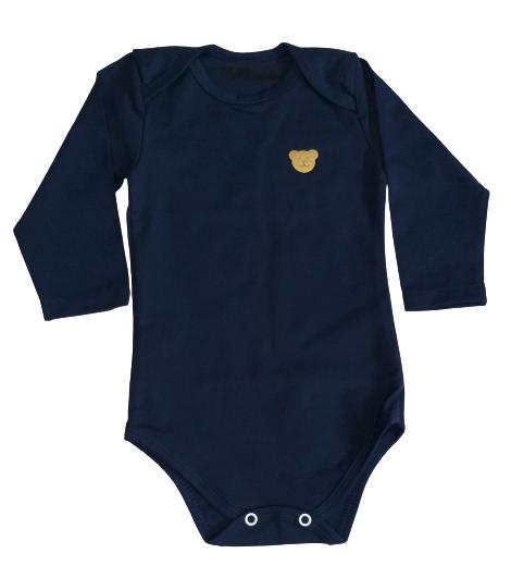 Body Bebê Inverno Unissex Urso Dourado - Bate Palminha