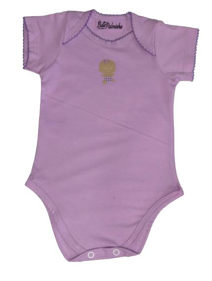 Body Bebê Verão Menina  - Bate Palminha