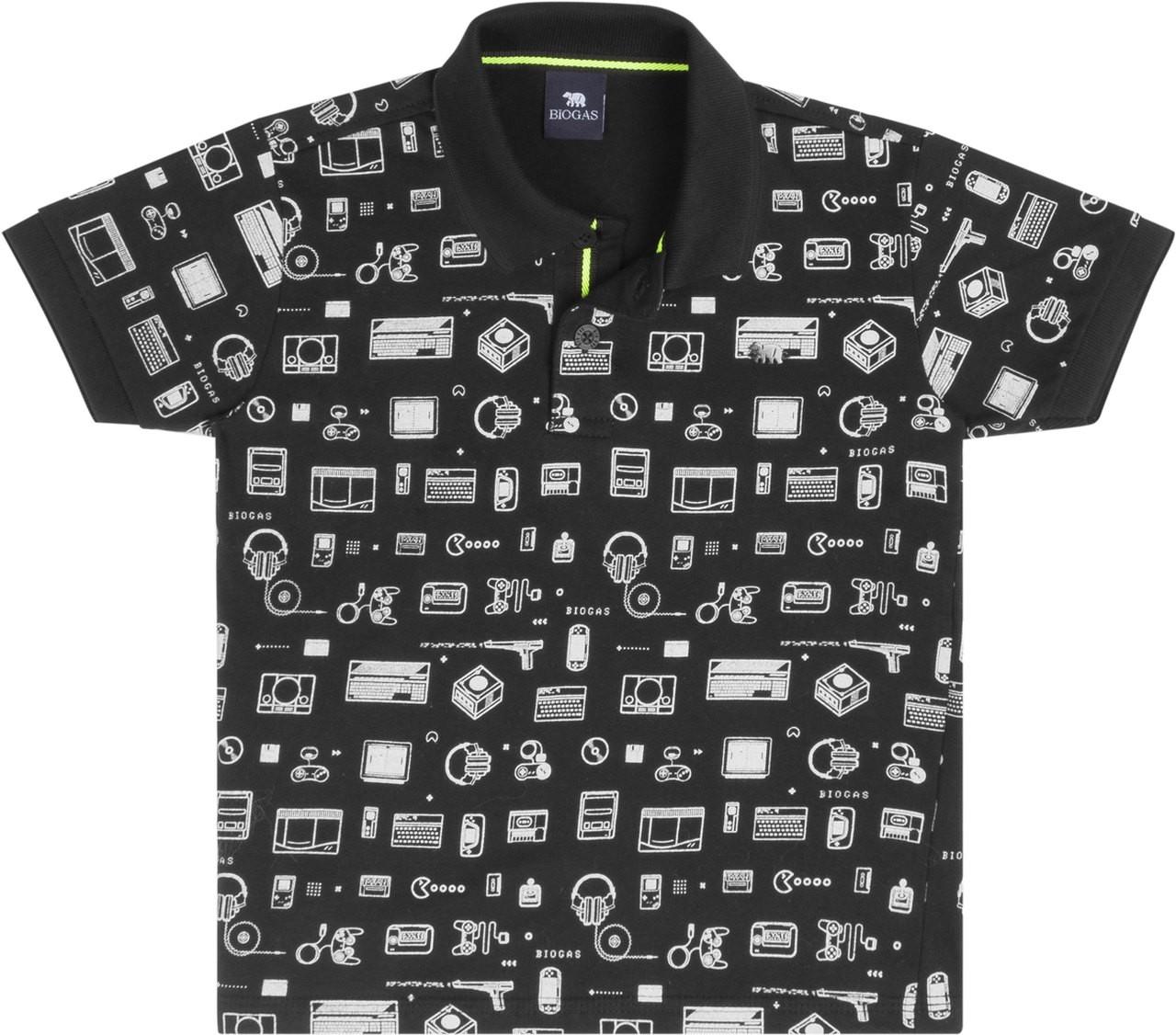 Camiseta Infantil Pólo Games  - Biogás