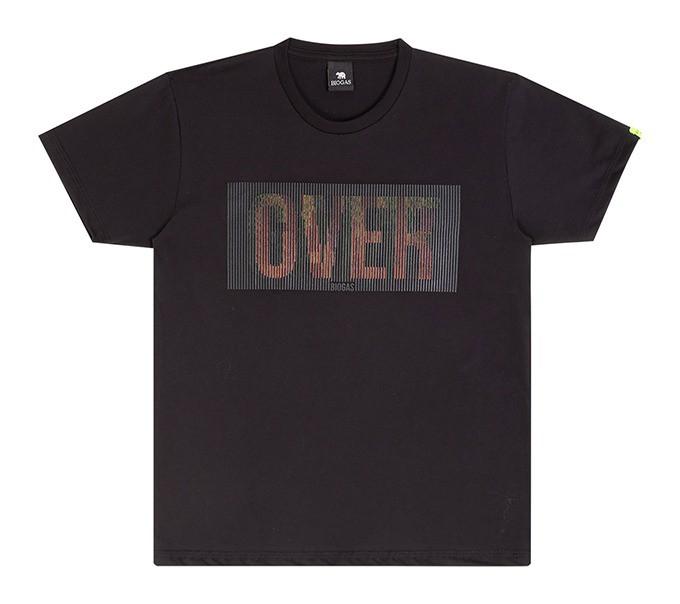 Camiseta Infantil Verão Com Estampa Reversível Game Over - Biogás
