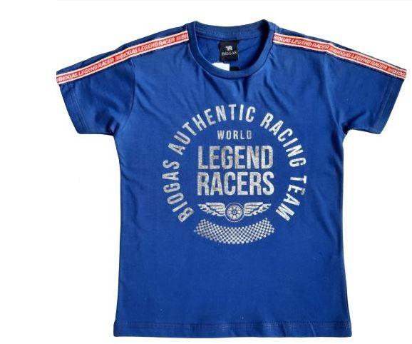 Camiseta Infantil Verão Lgend - Biogás