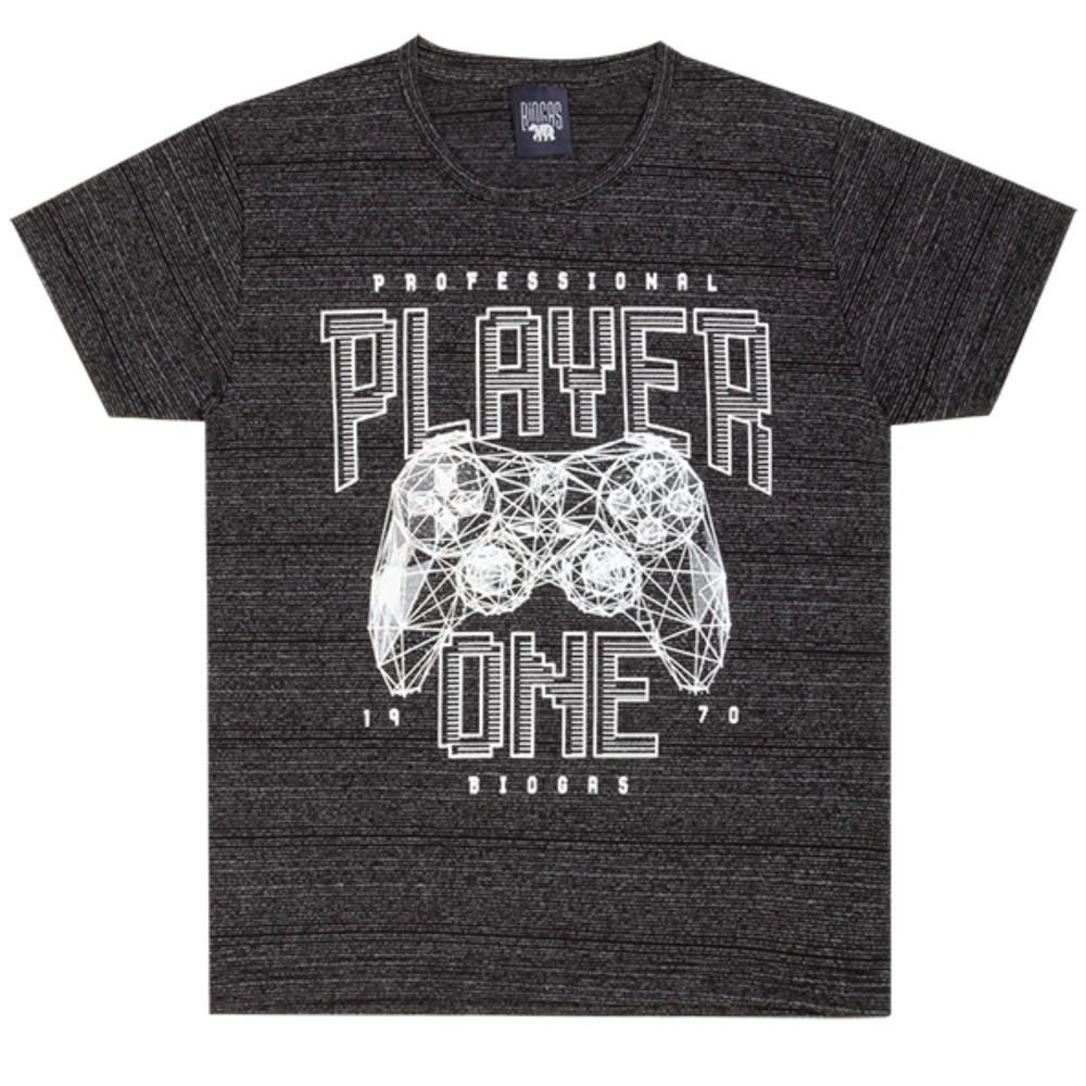 Camiseta Infantil Verão Player - Biogás