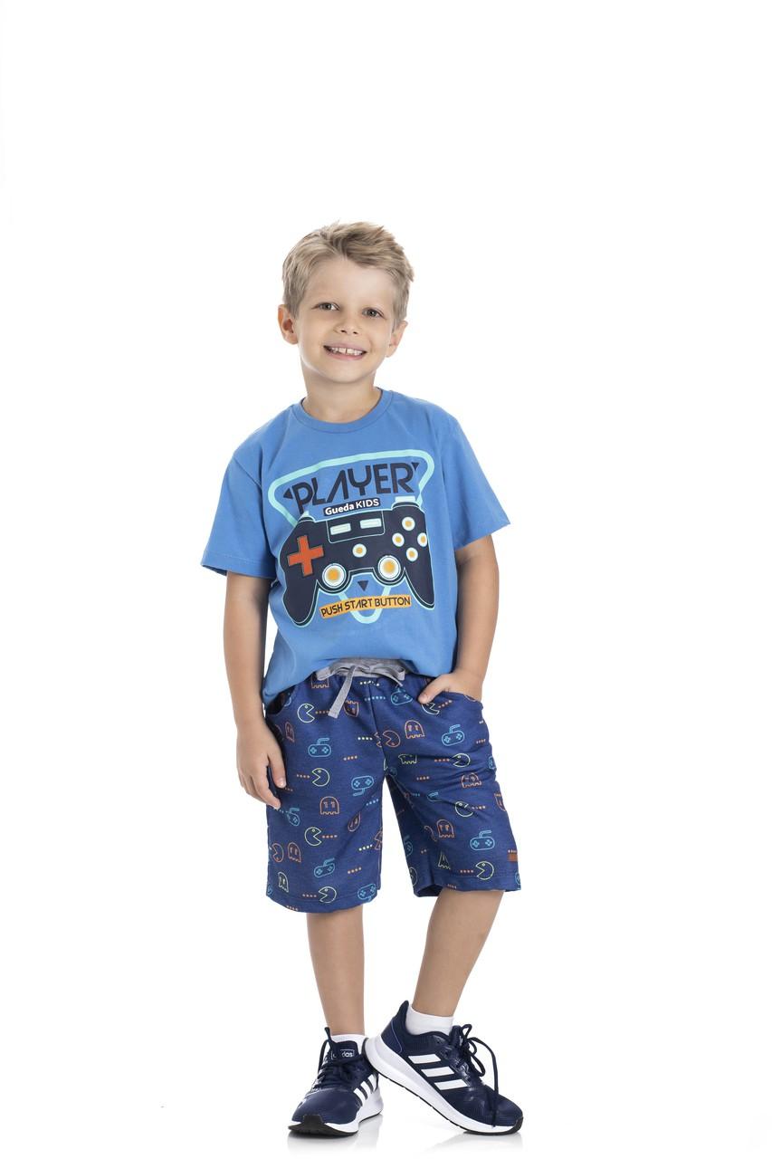 Camiseta Infantil Verão Player - Gueda