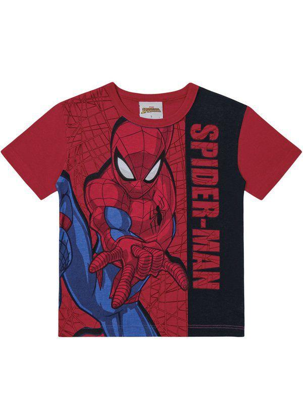 Camiseta Infantil Verão Spider-Man - Fakini