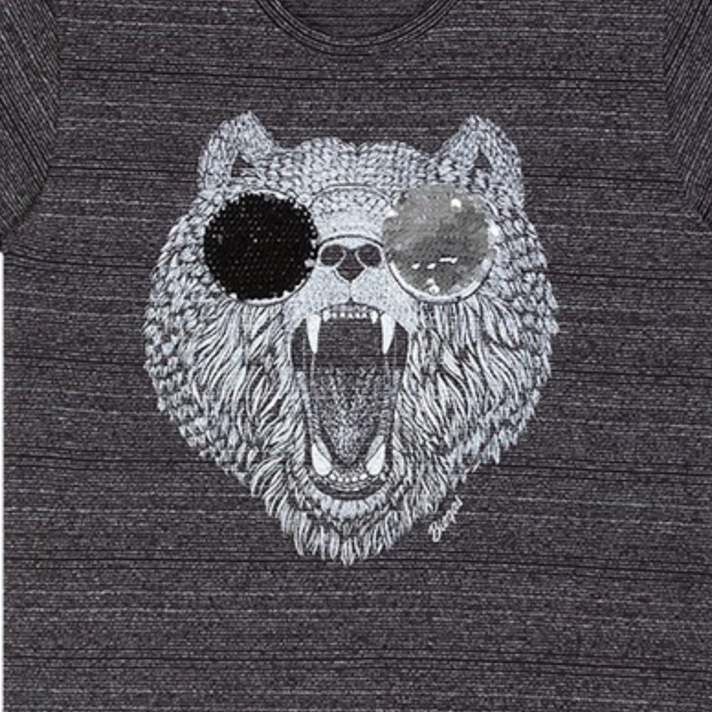 Camiseta Infantil Verão Urso - Biogás