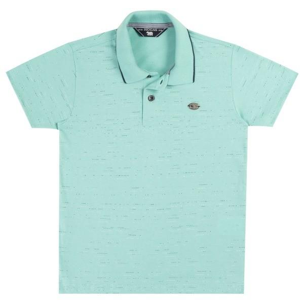 Camiseta Pólo Infantil Verão Aquarelada - Biogás