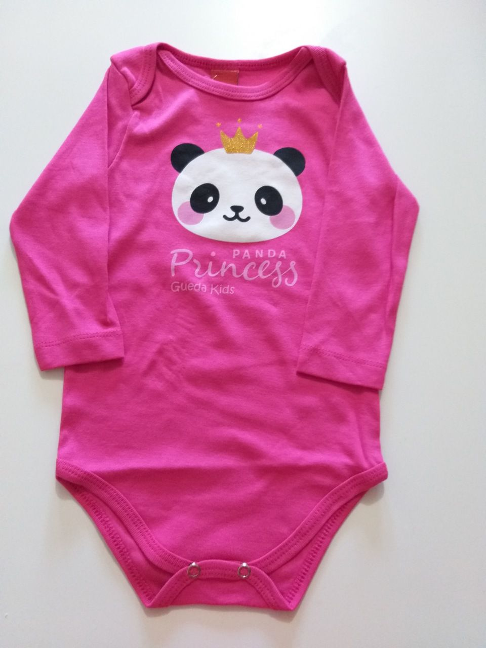 Conjunto Bebê Menina Inverno Panda, 2 peças - Gueda