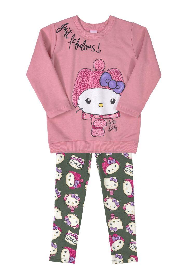 Conjunto Infantil Inverno 2 peças - Hello Kitty