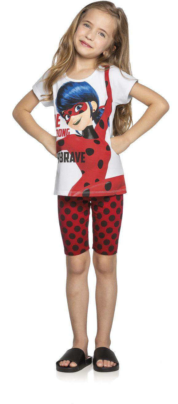 Conjunto Infantil Verão Ladybug, 2 peças - Romitex