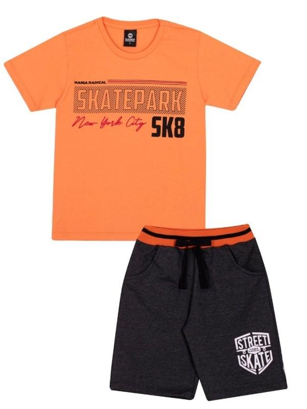 Conjunto Infantil Verão Skatepark, 2 peças - Gueda