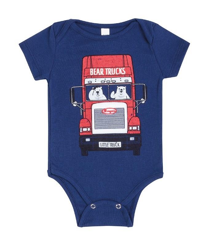 Conjunto Bebê Menino Verão Trucks, 2 peças  - Biogás