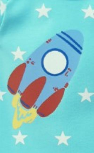 Kit Body Bebê Menino Verão Espaço, 3 peças - Doctor Baby