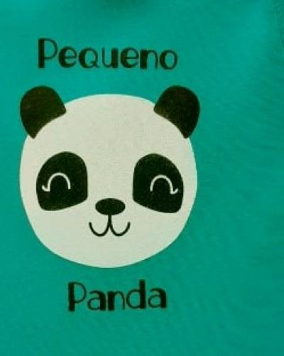 Kit Body Bebê Menino Verão Panda, 3 peças - Doctor Baby