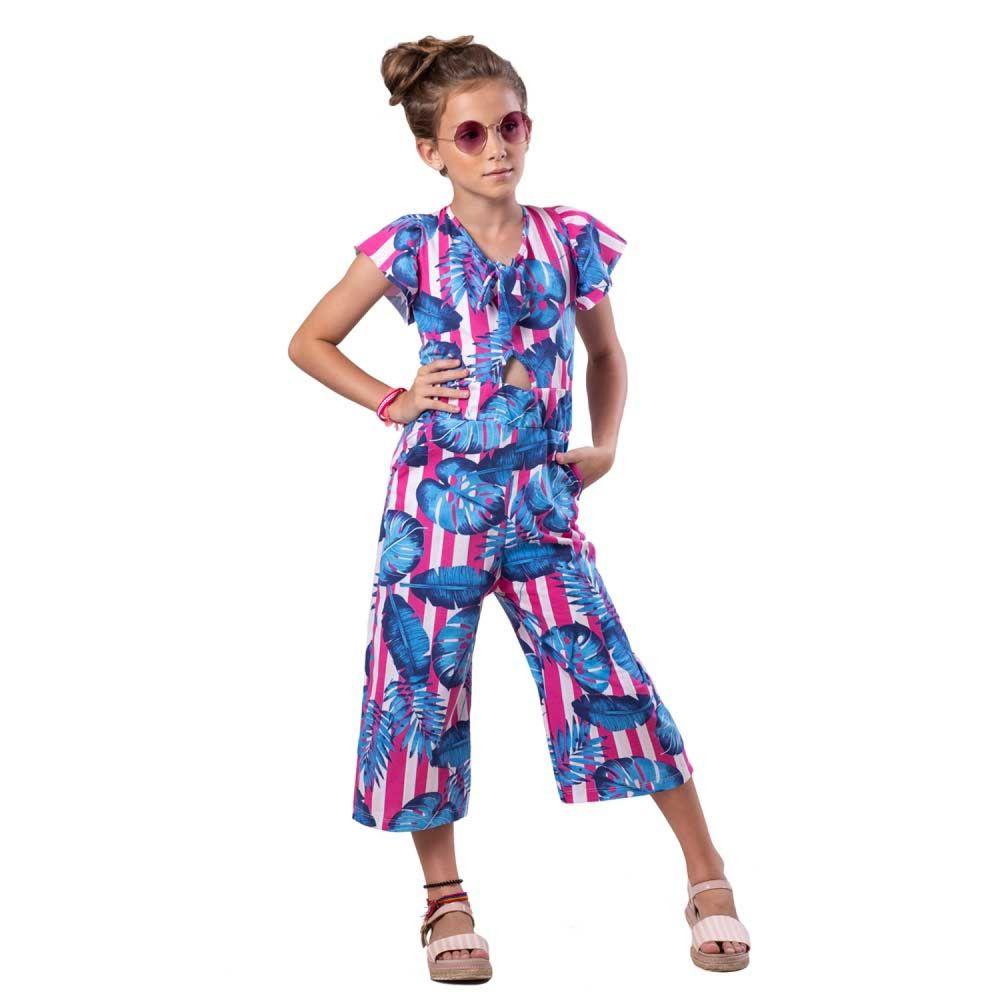 Macacão Infantil Verão Pantacourt  - Costão Mini
