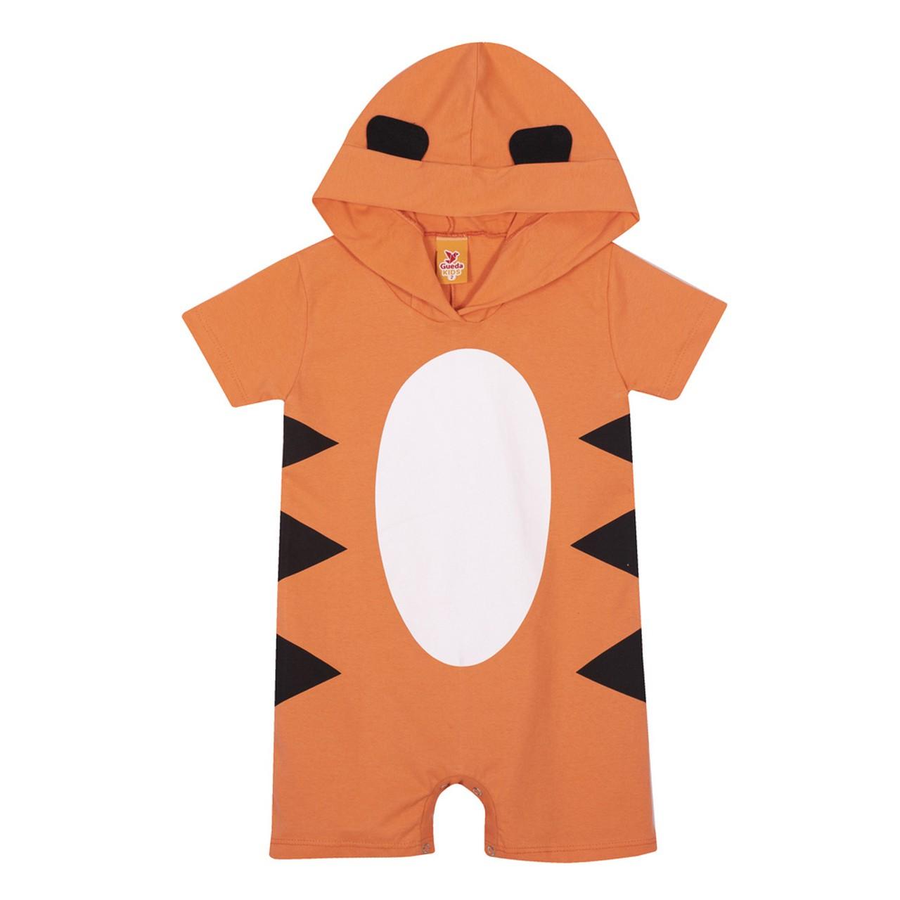 Macacão Infantil Verão Tigre - Gueda