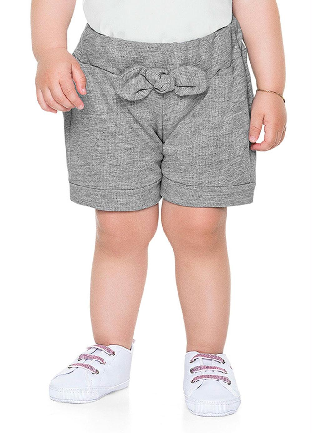 Short Bebê Menina Tigre - Fakini