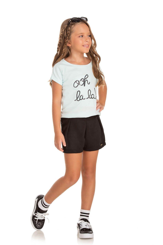 Shorts Infantil Verão  - Quebra cabeça