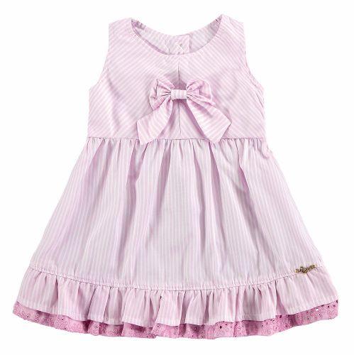 Vestido Bebê Verão Laço - Angerô
