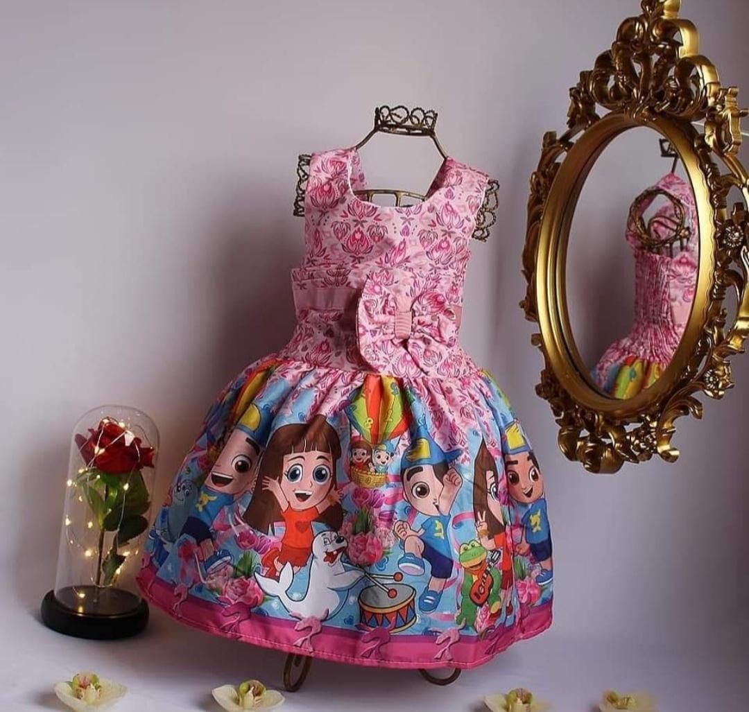 Vestido  Infantil Temático - Luccas Neto