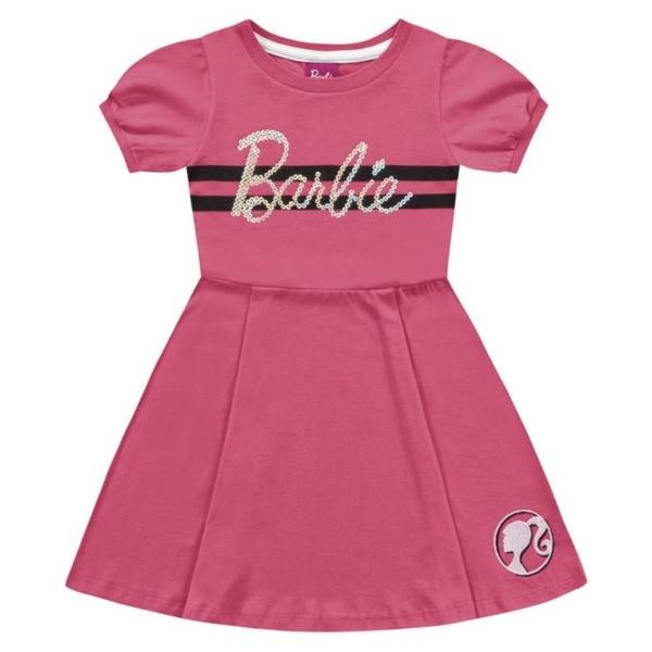 Vestido Infantil Verão Barbie  - Fakini