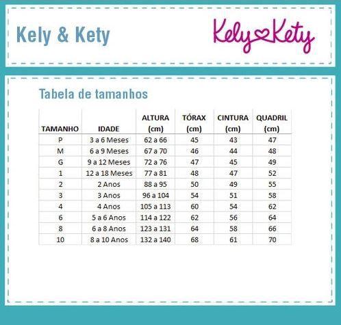 Vestido Infantil Verão Coroa - Kely & Kety