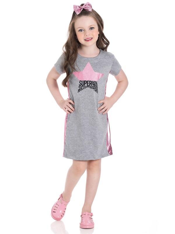 Vestido Infantil Verão Estrela - Gueda
