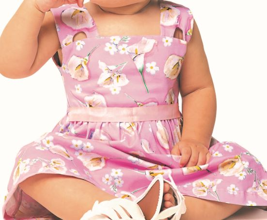 Vestido Infantil Verão Floral - Angerô