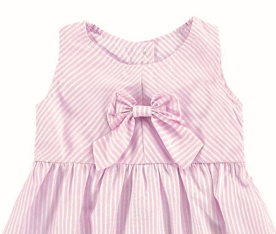 Vestido Infantil Verão Laço - Angerô