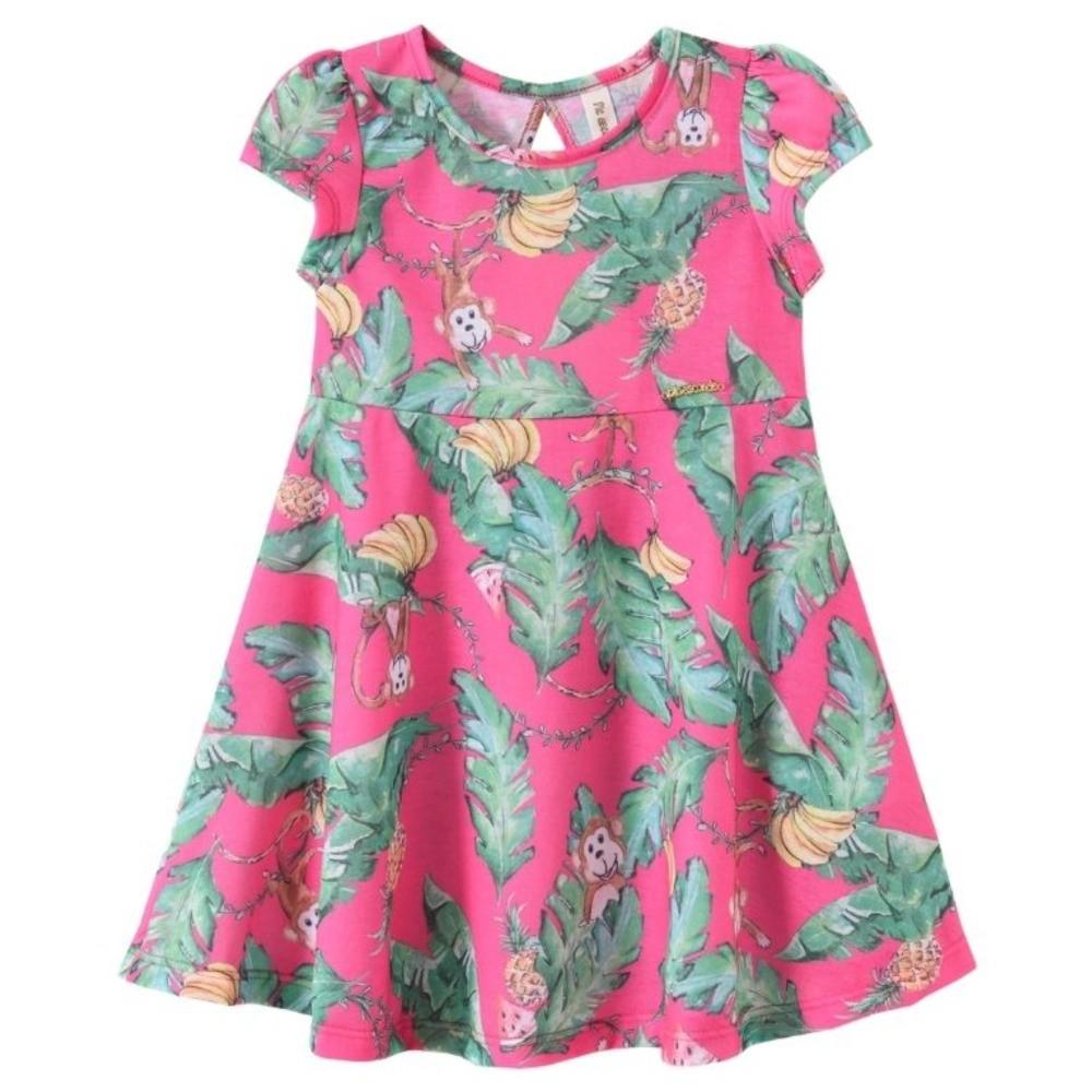 Vestido Infantil Verão Macaquinho - Pic Esconde