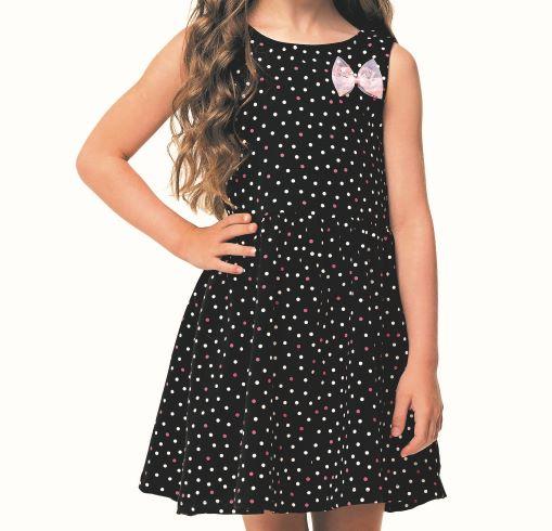 Vestido Infantil Verão Poá - Angerô