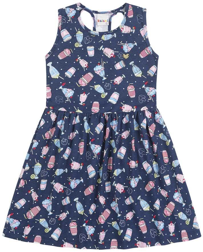 Vestido Infantil Verão Sorvete - Kaiani