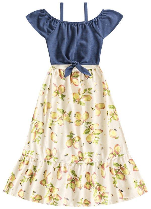 Vestido Longo Infantil Verão - Fakini