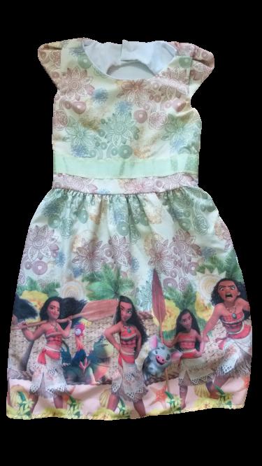 Vestido temático  Moana