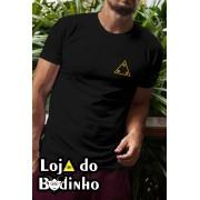 Camiseta 3 Pontos - 2 Opções de cor.