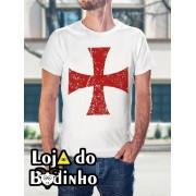 Camiseta Cruz Templária mod. 06 - 3 Opções de Cores